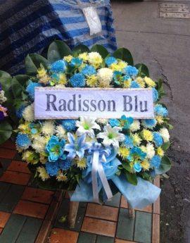 พวงหรีด โรงแรม Radisson