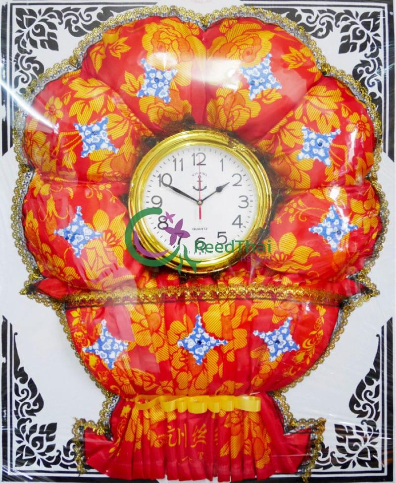 พวงหรีดผ้าแพรนาฬิกา Tn01