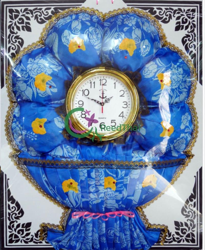 พวงหรีดผ้าแพรนาฬิกา Tn04