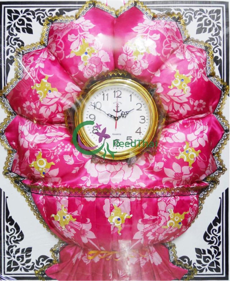 พวงหรีดผ้าแพรนาฬิกา Tn05