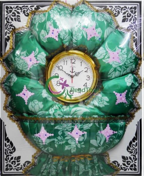 พวงหรีดผ้าแพรนาฬิกา Tn06