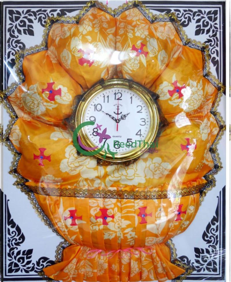 พวงหรีดผ้าแพรนาฬิกา Tn08