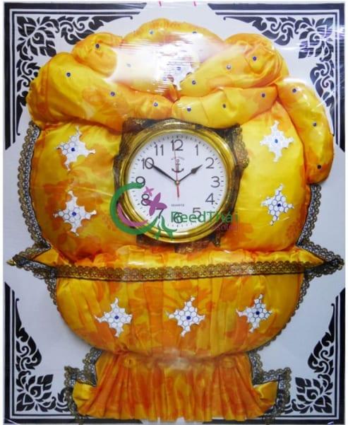 พวงหรีดผ้าแพรนาฬิกา Tn11