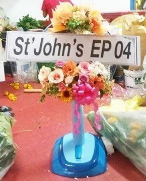 ร้านพวงหรีดวัดบางวัว อ.บางปะกง จังหวัดฉะเชิงเทรา พวงหรีดจากSt'John's EP04