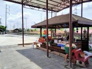 ร้านพวงหรีดหรีดไทย วัดกระทุ่มเสือปลา ทำบุญ 2