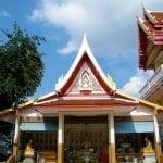 บริเวณวัวัดกุนนทีรุทธาราม โดยร้านพวงหรีด Reedthai