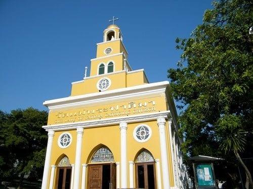 พวงหรีดโบสถ์แม่พระฟาติมา วัดแม่พระฟาติมา featured image พวงหรีด