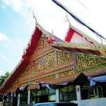 ภาพภายในวัดกุนนทีรุทธาราม โดยร้านพวงหรีด Reedthai