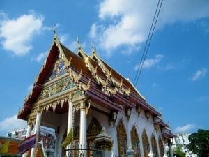 รูปอุโบสถวัดกุนนทีรุทธาราม โดยร้านพวงหรีด Reedthai