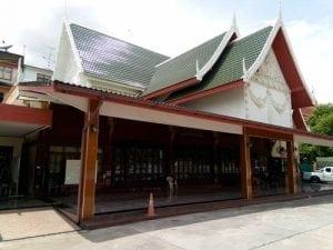 ศาลางานศพวัดสุวรรณ 2 โดยร้านพวงหรีด Reedthai