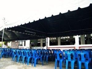 ศาลา วัดโพสพผลเจริญ โดยร้านพวงหรีด Reedthai
