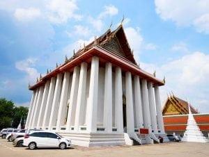 โบสถ์วัดสระเกศ โดยร้านพวงหรีด Reedthai