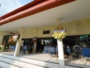 ภายในงาน และพวงหรีด วัดเครือวัลย์ โดยร้านพวงหรีด Reedthai