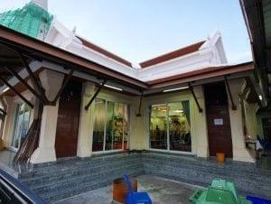 ศาลางานศพวัดประยุรวงศาวาส โดยร้านพวงหรีด Reedthai