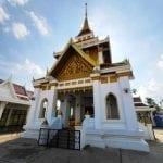 เมรุเผาศพ วัดระฆัง โดยพวงหรีดหรีดไทย