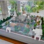 แผนผังแบบจำลองวัดประยุรวงศาวาส โดยร้านพวงหรีด Reedthai