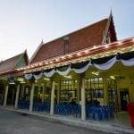 ศาลาจัดงานศพวัดบึงทองหลาง โดยร้านพวงหรีด Reedthai