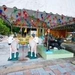 ภาพภายในวัดบางเตยนอก โดยร้านพวงหรีด Reedthai