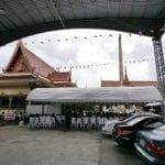รูปบรรยากาศวัดมหาวงษ์ โดยร้านพวงหรีดวัดมหาวงษ์ หรีดไทย Reedthai