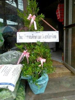 ร้านพวงหรีดวัดอมรินทราราม จากมหาวิทยาลัยมหิดล