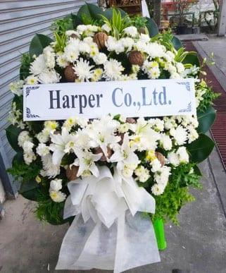 ร้านพวงหรีดวัดเจ้าอาม จากHarper Co., Ltd.