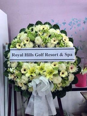 ร้านพวงหรีดวัดลาดปลาดุก นนทบุรี Royal Hills Golf Resort & Spa