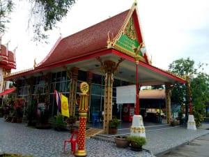 ศาลาด้านข้าง วัดสังฆราชา โดยร้าน Reedthai