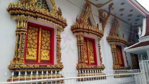 หน้าต่างโบสถ์ วัดทองเพลง โดยร้าน Reedthai