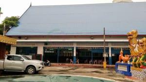 หน้าศาลา วัดขุนจันทร์ โดยร้าน Reedthai