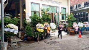 หน้าศาลา วัดอนงคารามวรวิหาร โดยร้าน Reedthai