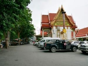 ด้านข้างโบสถ์ วัดศรีบุญเรือง รามคำแหง โดยร้าน Reedthai