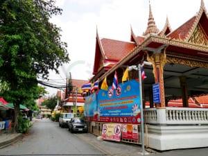 ถนนในวัด วัดศรีบุญเรือง รามคำแหง โดยร้าน Reedthai